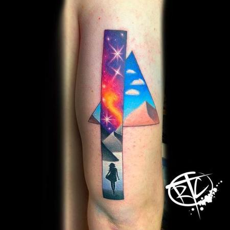 Tattoos - Ryan Cumberledge Color Dunes - 140080
